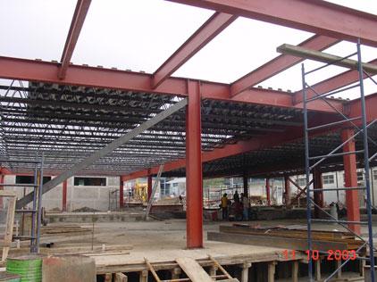 Estructura met licas y naves industriales for Como hacer una estructura metalica para techo