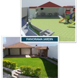 Proyecto Cumbres Elite - Panorama jardin