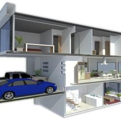 Proyecto Prado I - Corte vertical - Residencias Cumbres 2015 - VYDSA