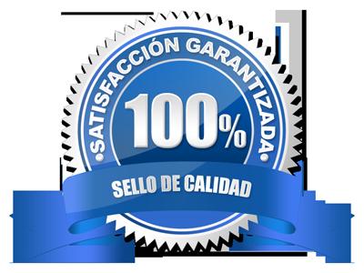 Sello de calidad / 100% Satisfacción garantizada